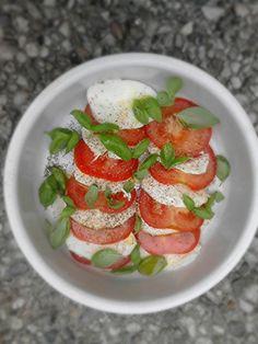 #Salade #caprese by kokkie anoukie