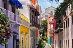 Vacation Destinations for lovebirds (San Juan, P.R. in picture)