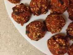 Raw Carrot Cake Cookies