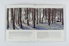 Pure Magazine by Patrycja Dulnik, via Behance