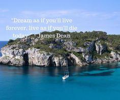 """Dream as if you'll live forever live as if you'll die TODAY"" James Dean  #marketingstrategy #socialmedia #digitalmarketing #entrepreneur #socialmediamarketing #business #entrepreneurs #socialmediatips #marketingtips #contentmarketing #branding #smallbusiness #design #businesstips"