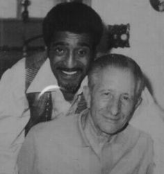 Sammy Davis with Carlo Gambino(?)