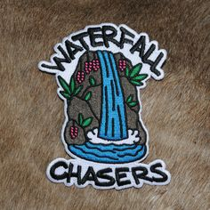 Waterfall Chasers Patch (Iron-On)
