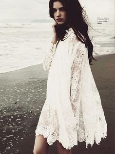 at the beach. by {this is glamorous}, via Flickr