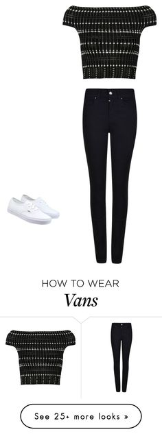 """Untitled #388"" by aminamuratovic3 on Polyvore featuring Alexander McQueen, Giorgio Armani, Vans, women's clothing, women's fashion, women, female, woman, misses and juniors"