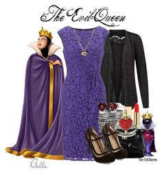 """Mirror, Mirror on the wall, who is the fairest of them all?"" by disneychickz-icons-and-tips ❤ liked on Polyvore featuring Disney, VILA, Adrianna Papell, maurices, PUR, Niclaire, Swarovski, evilqueen, snowwhite and disneyana"