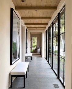Outside Room, Cedar Homes, Steel Windows, Swinging Doors, Interior Windows, Iron Doors, Window Design, Modern House Design, French Doors