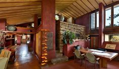 Take a 360° Virtual Tour of Frank Lloyd Wright's Home & Studio http://www.visualnews.com/2015/12/08/take-360-virtual-tour-frank-lloyd-wrights-home-studio/