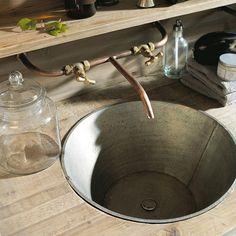 """Résultat de recherche d'images pour """"vasque inox diy"""""""