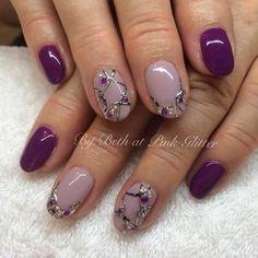 Nail Art, Nail Designs, Purple Nails | NAILPRO