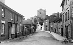 Church Street c1955, Shifnal