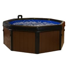 Comfort Line Products 5-Person Spa-N-A-Box Portable Spa with Reversible Panels & Reviews   Wayfair