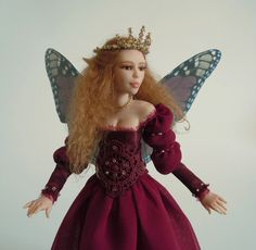 Gorgeous art doll