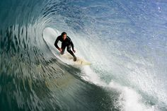 Jeff Emerson, enjoying another helping of February's delights in the South Bay. Photo: Lowe-White