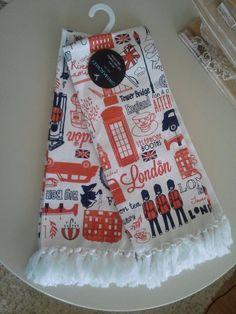 Cynthia Rowley set of 2 Cotton Kitchen Dish Hand Towels You're My Sweet Tea Hand Towels, Tea Towels, Kitchen Dishes, Sweet Tea, Cynthia Rowley, Bridge, Napkins, England, Decor Ideas