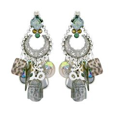 Lucky charm earrings by Reminiscence. Collection: Lucky Grisgris Spring/Summer 2013.