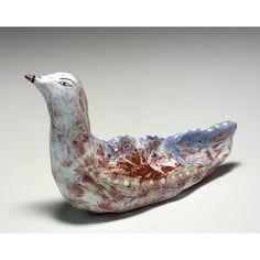 Lissa  A Ceramic Sculpted Bird