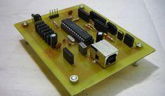 "El PIC 18F2550, el pequeño ""gigante"" con USB Arduino, Microcontrolador Pic, Pic Microcontroller, Software, 8 Bits, Development Board, Radio Control, Usb Flash Drive, Projects"