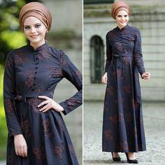 ARAMISS - DRESS - 7055KH #hijab #naylavip #hijabi #hijabfashion #hijabstyle #hijabpress #muslimabaya #islamiccoat #scarf #fashion #turkishdress #clothing #eveningdresses #dailydresses #tunic #vest #skirt #hijabtrends