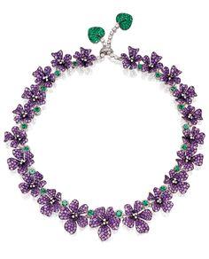 della Valle violets necklace. photo: courtesy ©Sotheby's