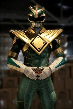 New Green Ranger Suit!!!