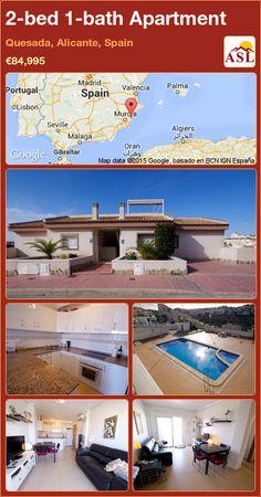 2-bed 1-bath Apartment in Quesada, Alicante, Spain ►€84,995 #PropertyForSaleInSpain