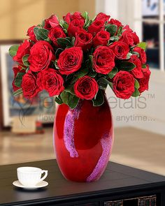 Nothing can express your #love as timelessly as a #rose. This Valentines, say it with gorgeous #redroses.