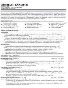 Functional Resume Example  Page   A Functional Resume Focuses