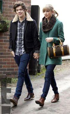 Not a fan of her and Harry together. She needs a good MAN who doesn't wear skinny jeans.