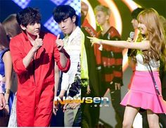 Nichkhun congratulates girlfriend Tiffany on M!Countdown - Latest K-pop News - K-pop News K Pop Star, Gong Yoo, Snsd, Cute Couples, Girlfriends, Tiffany, Dj, Kpop, My Style