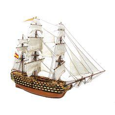 1:90 Santisima Trinidad scale model ship