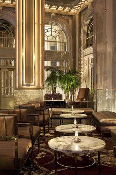 Livingston Restaurant + Bar @ Georgian Terrace Hotel by Puccini Group , via Behance