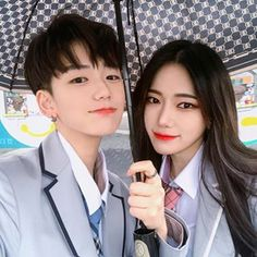 Image may contain: one or more people and closeup Korean Boys Ulzzang, Cute Korean Boys, Ulzzang Korea, Ulzzang Couple, Ulzzang Boy, Cute Boys, Perfect Couple, Sweet Couple, Cute Couples Goals