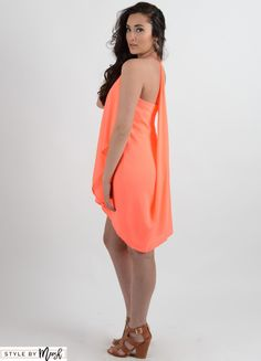 What Coral Is Your Reef Chiffon Dress