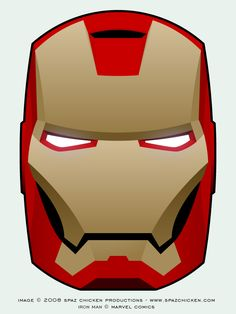 Iron Man Mask by SpazChicken.deviantart.com