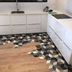 Rubber Floor Tiles Home . Rubber Floor Tiles Home . 47 Fabulous Floor Tiles Designs Ideas for Living Room with Kitchen Flooring, House Flooring, Kitchen Remodel, Home Remodeling, Contemporary Kitchen, Home Decor, House Interior, Flooring, Kitchen Design