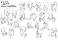 Marvel Dc, Marvel Comics, Character Concept, Concept Art, Expression Sheet, X Men Evolution, Character Modeling, Character Design References, Characters