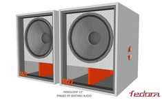 Miniscoop Speaker Plans 15 Inch - Full Bass 15 Inch Subwoofer Box, Subwoofer Box Design, Speaker Box Design, Subwoofer Speaker, Sub Box Design, Music Mixer, Garage Tool Organization, Speaker Plans, Diy Speakers