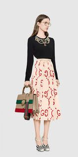 Gucci Look 10 - Women, Fall Winter 2016 Runway Collection
