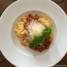 Probiere das mal aus!: Ein Klassiker >>> Spaghetti Bolognese