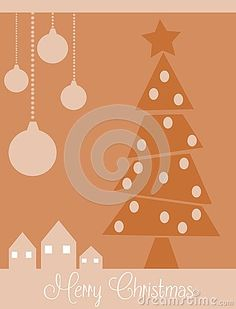 A nice idea for Christmas greeting card, with modern but elegant look.