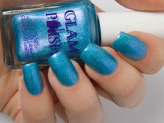 Glam Polish Tranquil Shores: Exotic Illusions April 2014 trio.