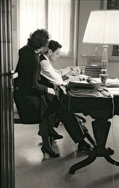 Pier Paolo Pasolini and his mother