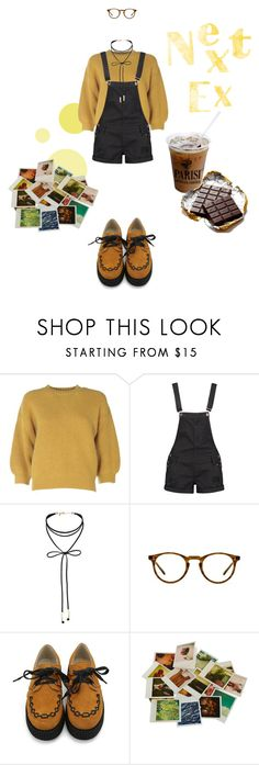 """""""Next Ex """" by mgx-dark-queen ❤ liked on Polyvore featuring 3.1 Phillip Lim, Boohoo, Miss Selfridge, Oliver Peoples, Chronicle Books, vintage, indie and arthoe"""