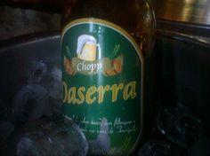 Cerveja Chopp Daserra, estilo Amber Lager, produzida por Daserra, Brasil. 3.5% ABV de álcool.