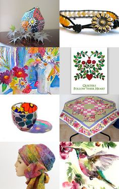 Spring Florals by Mary Hopkins on Etsy--Pinned with TreasuryPin.com