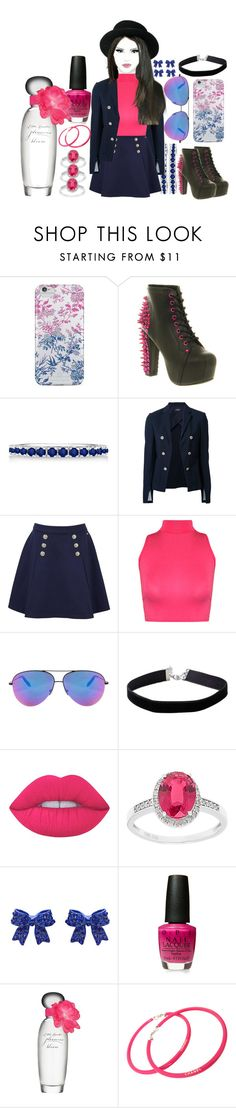 """Sem título #25"" by homewrecker-idle ❤ liked on Polyvore featuring Nanette Lepore, Jeffrey Campbell, Chanel, Allurez, Theory, Tommy Hilfiger, WearAll, Victoria Beckham, Miss Selfridge and Lime Crime"