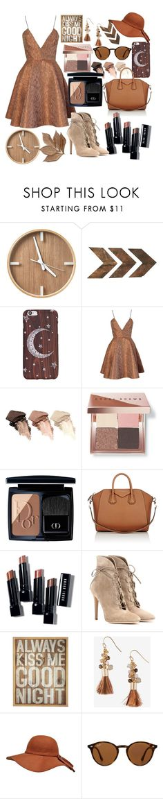 """Untitled #83"" by myworldincroyable ❤ liked on Polyvore featuring Joana Almagro, Urban Decay, Bobbi Brown Cosmetics, Christian Dior, Givenchy, Gianvito Rossi, Pier 1 Imports, Express, Ray-Ban and Bliss Studio"