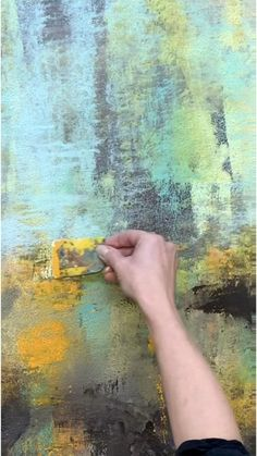 Abstract Painting Techniques, Abstract Canvas Art, Diy Canvas Art, Texture Painting, Oil Painting Abstract, Wall Canvas, Abstract Expressionism, Chalk Paint, Ideas