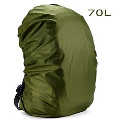 iisport 70L Army Green Backpack Rain Cover Waterproof Cover for Outdoor Hiking Camping Traveling * Details can be found by clicking on the image. Note:It is Affiliate Link to Amazon.